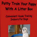 Potty Train Your Puppy With Litter Box