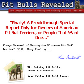 Pit Bull Terrier Training Guides
